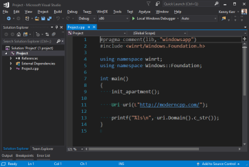 C++/WinRT | Modern C++ for the Windows Runtime